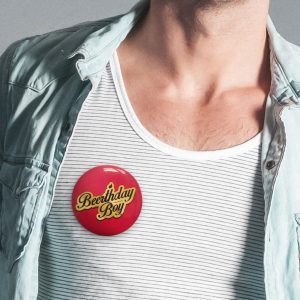 Beerthday Boy Badge